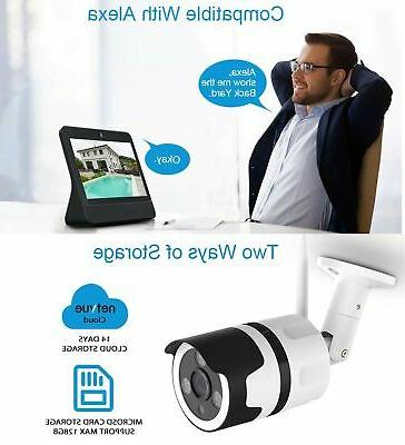 Outdoor Security 1080P Cameras WiFi