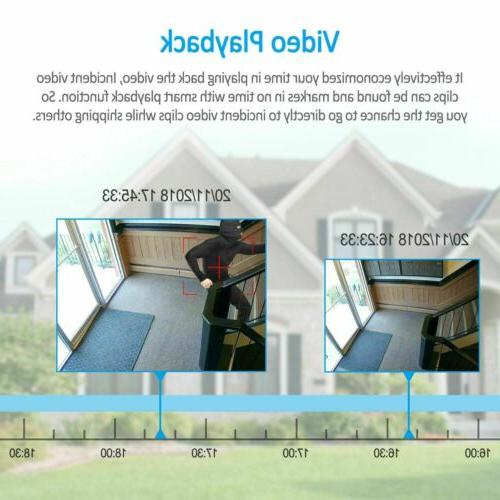ANRAN CCTV Security Camera System Wireless NVR Home