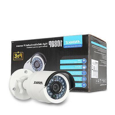 ANNKE 1080P POE 4CH 6MP NVR 2MP Camera System