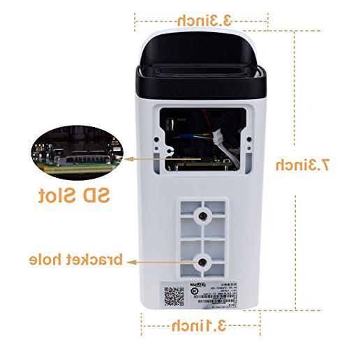 Dahua 6MP POE Camera IPC-HFW4631F-ZSA,2.7-13.5mm Varifocal and SD IR Night,H.264/H.265 ONVIF