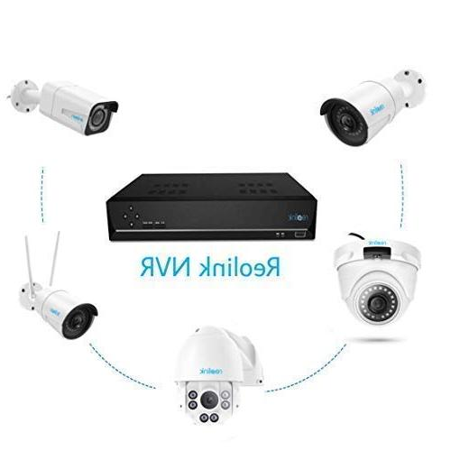 Reolink PoE 16CH IP Home System Video Recorder with 3TB 5MP/4MP/1080p/720p HD 24/7 Recording