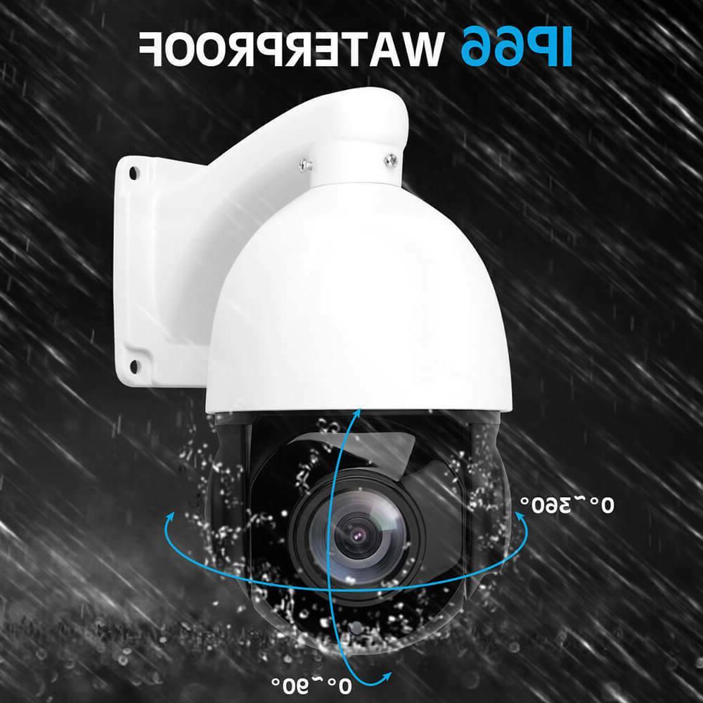 POE PTZ IP 5MP Super Pan/Tilt 30x Zoom Dome