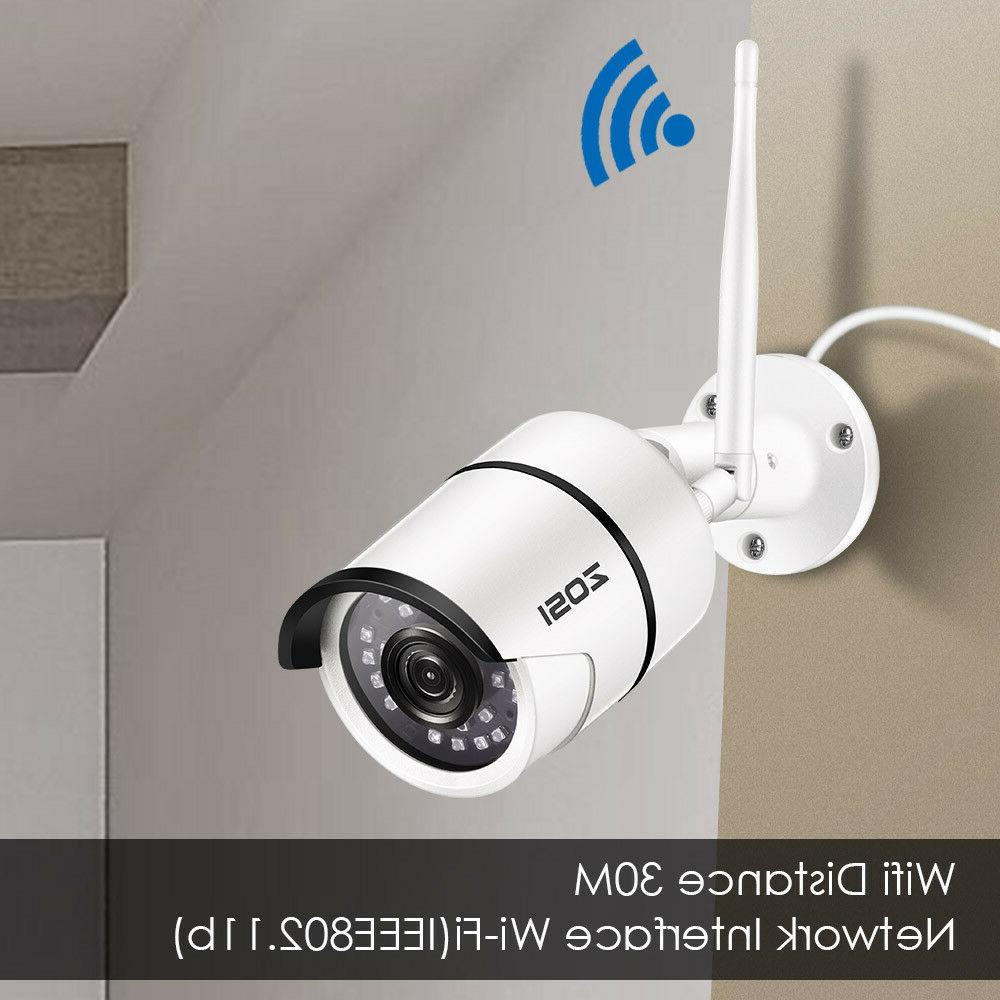 ZOSI 1080P IP Camera Security Bullet Night Vision