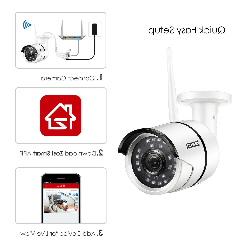 ZOSI IP Onvif Security Bullet Vision