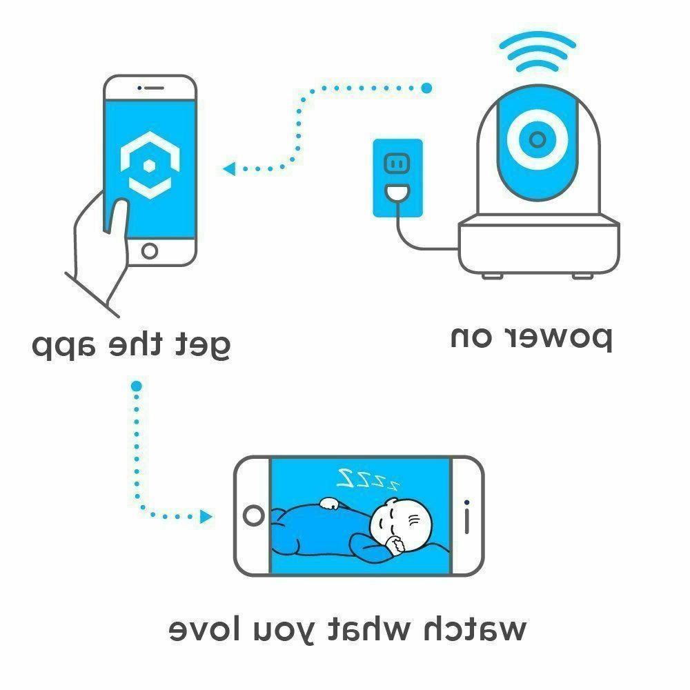 Amcrest 2-Pack WiFi Camera Wireless 2MP