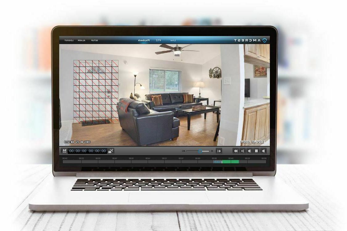 Amcrest WiFi Camera Wireless Surveillance