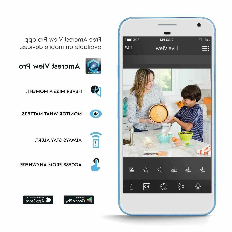Amcrest IP WiFi Security Video Surveillance System