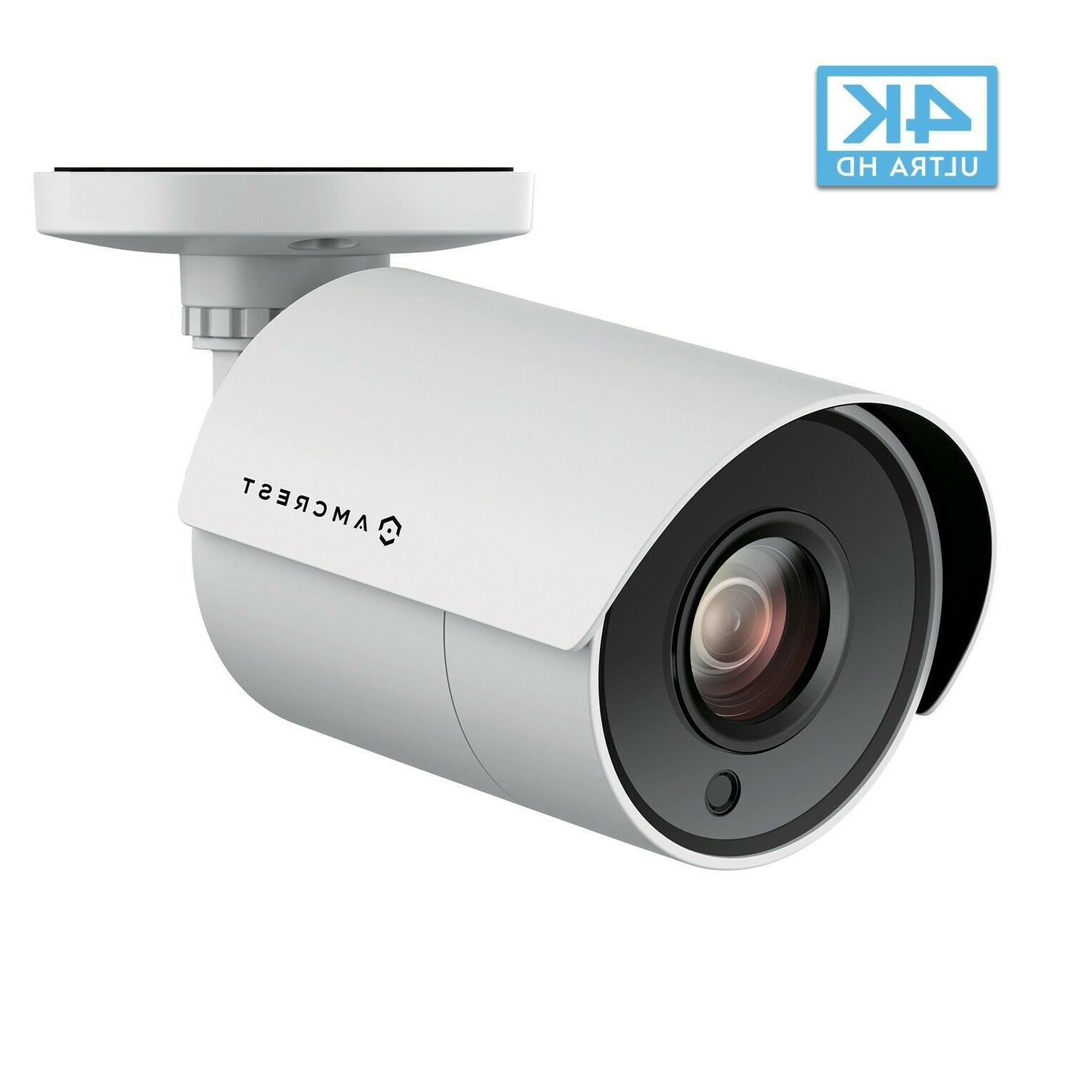 qty 8 ultrahd 4k bullet outdoor security