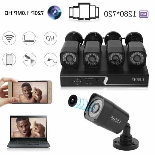 Security-Camera-System-1080P-Wire-DVR-Surveillance-Kit-HD-IR