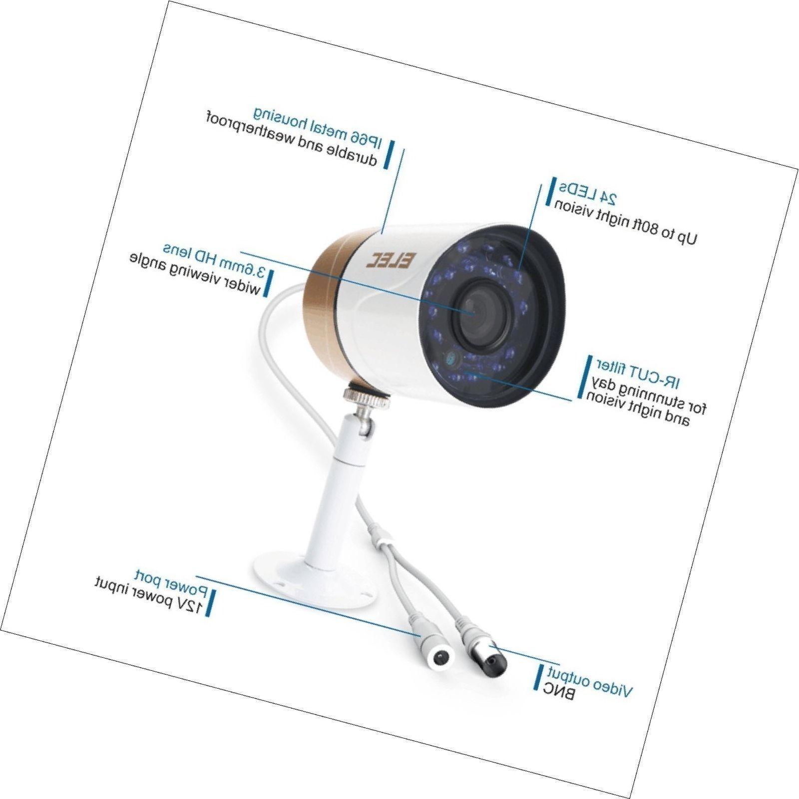 Security Camera 1/4 1080P Outdoor Indoor Home Surveillance New