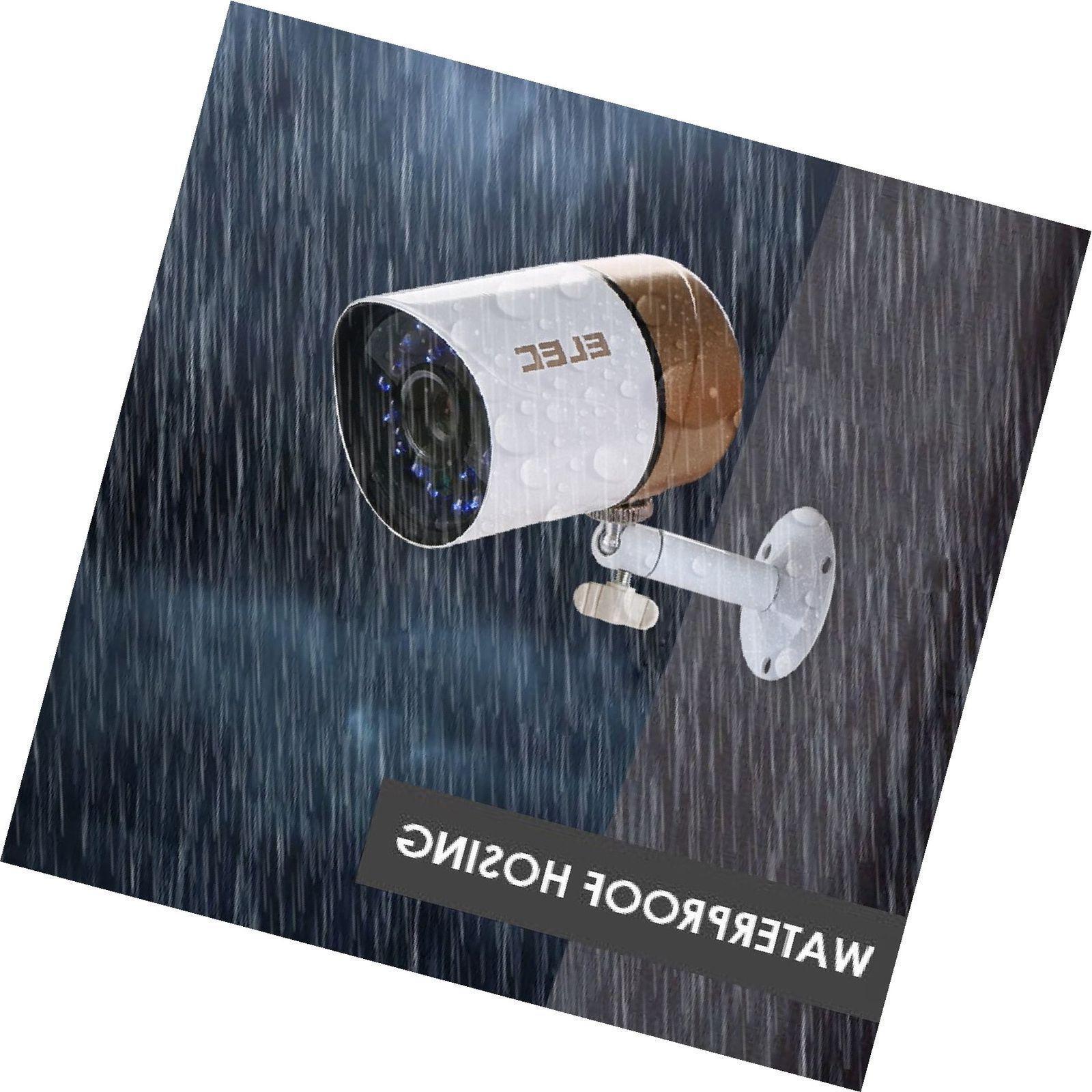 Security Camera 1/4 1080P Hd 2000 Tvl New
