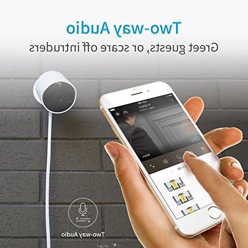 YI 1080p Wireless Vision Audio, Motion Detection, Alert, Deterrent iOS,