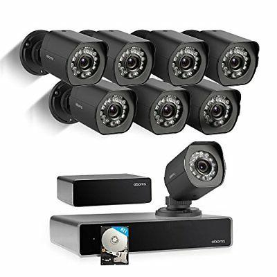 Zmodo 1080p 8 Video Surveillance Security System Repeater and 1TB Hard Drive