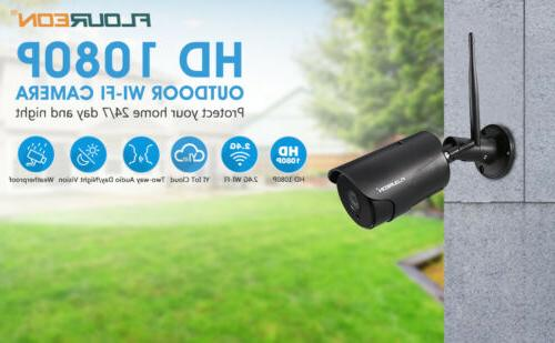 HD 1080P WIFI IP Camera Home Security Two-Way IR Vision