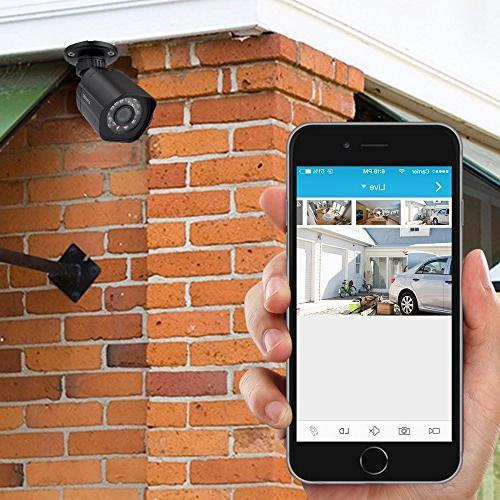 Zmodo PoE Security System 1080p Cameras 2TB Hard