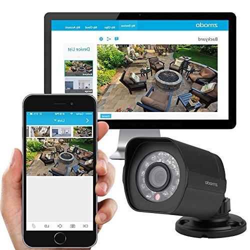 Zmodo PoE Security System 8 NVR & 8 1080p and 2TB Hard