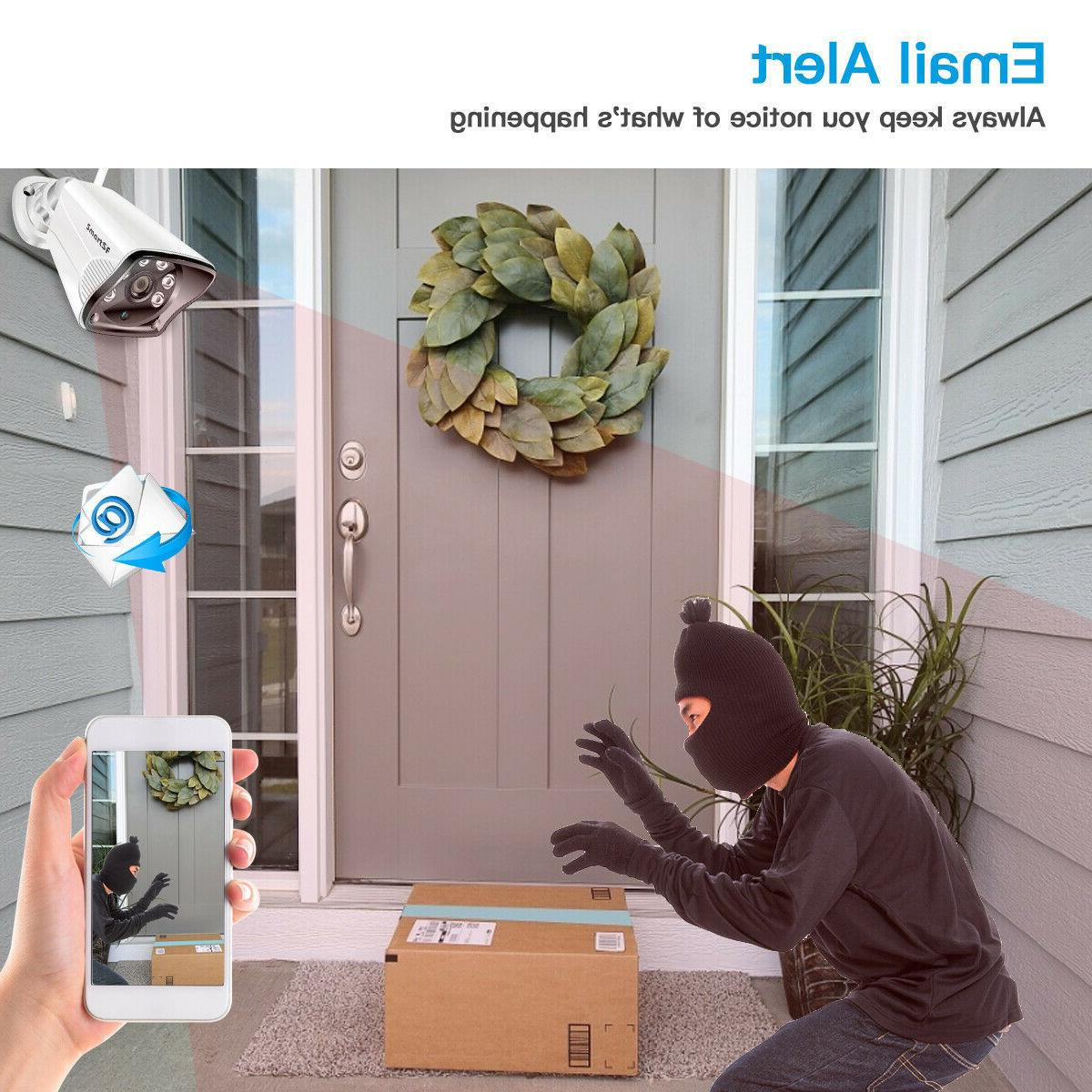 SmartSF Surveillance 720P Camera