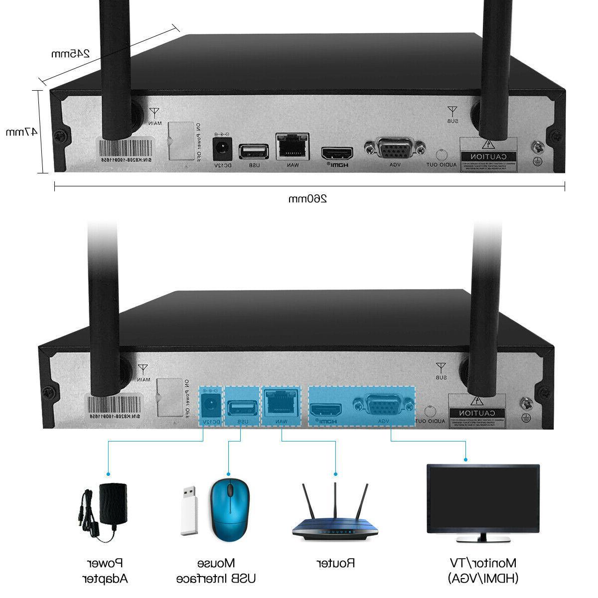 Surveillance Security System 720P CCTV