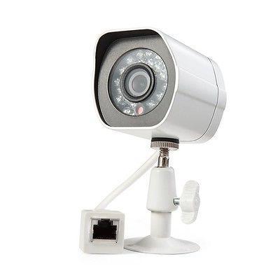 Zmodo 720p sPoE Hd Outdoor IP Network Camera ZP-IBH15-S1 RJ4