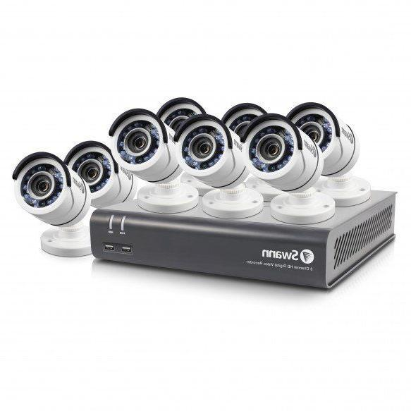 8 Channel 1080p Security & 1080p