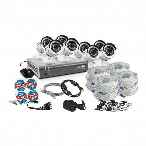 New 8 Channel 1080p HD Security & 1080p cameras