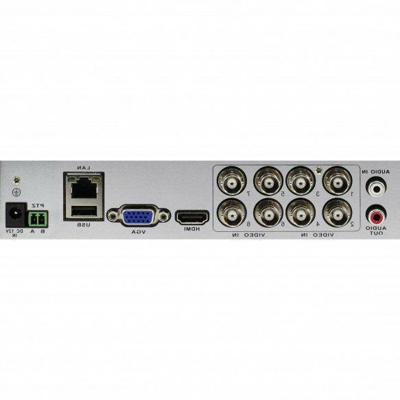New SWDVK-845958-US 8 Channel 1080p HD Security &
