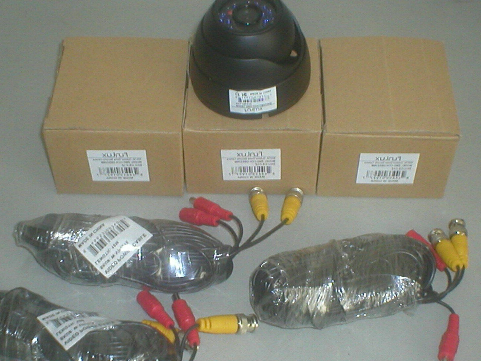 three brand new outdoor security cameras zmd