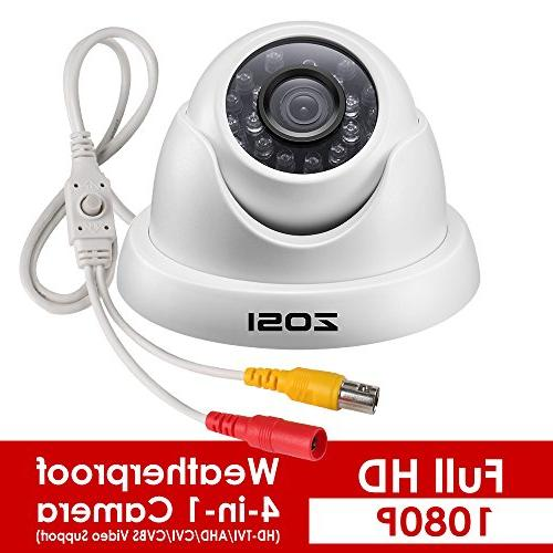 Dome Security System,1920TVL Day Indoor/Outdoor Dome Camera 1080p Vision to