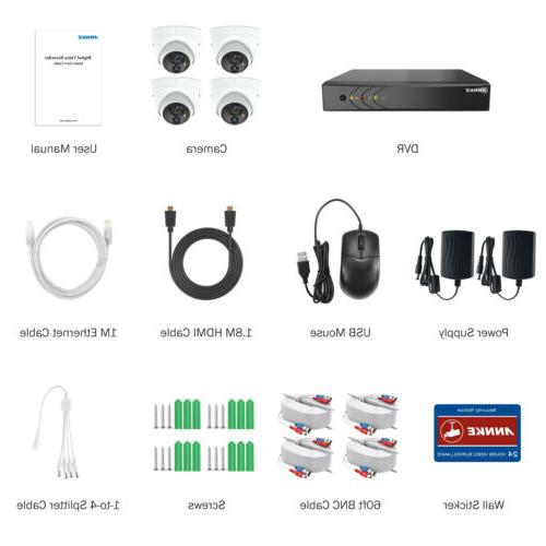 ANNKE HD 5MP 8CH 5MP PIR CCTV Camera
