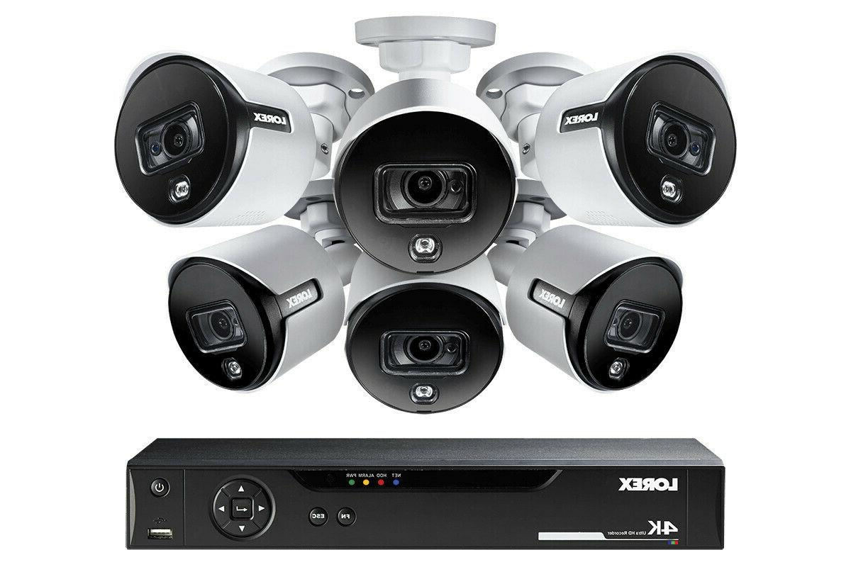 LOREX Channel Security System 6 Deterrence Cameras