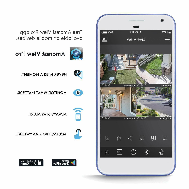 Amcrest Turret PoE Outdoor Security Camera