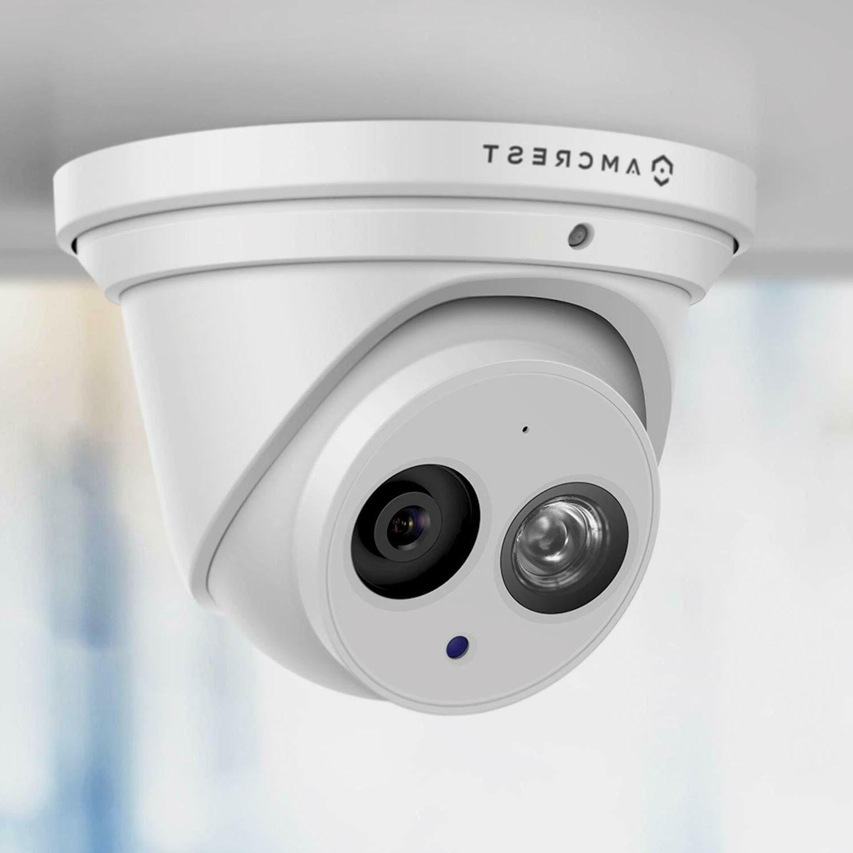 Amcrest UltraHD 8M Turret PoE Security