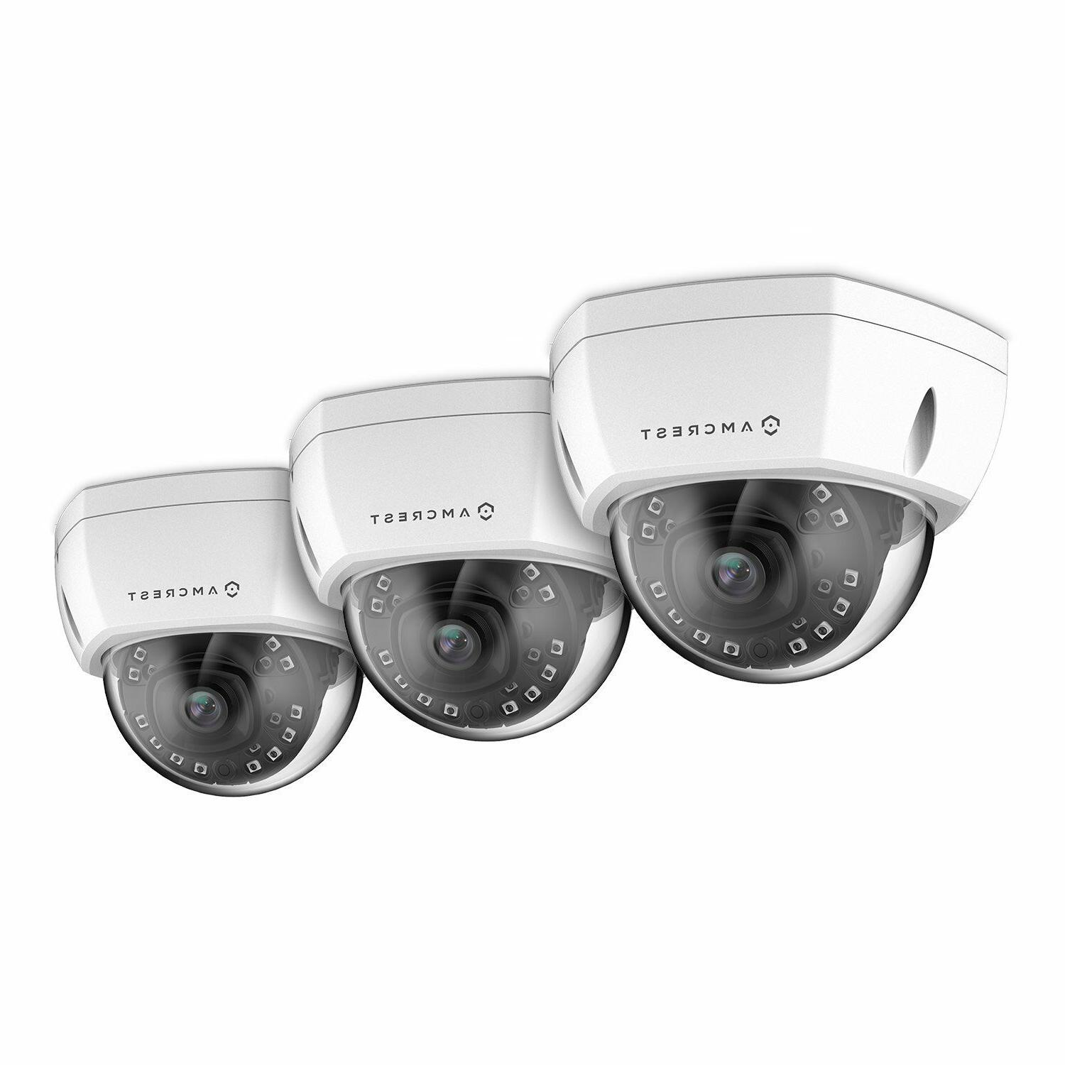 Amcrest UltraHD 4K Security POE IP 3840x2160, NightVision, Lens, Vandal