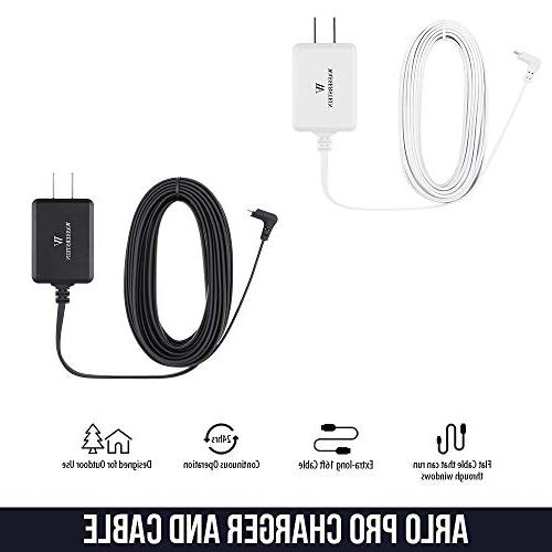 Weatherproof Outdoor Charge 3.0 Adapter With Arlo Arlo Pro 2 and Arlo cable your – by