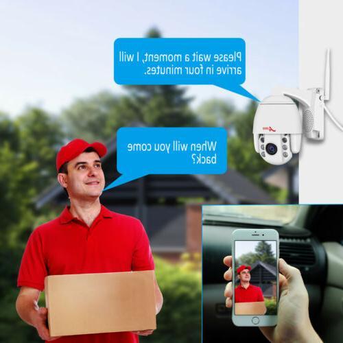ANRAN WIFI Camera Outdoor Audio Wireless APP