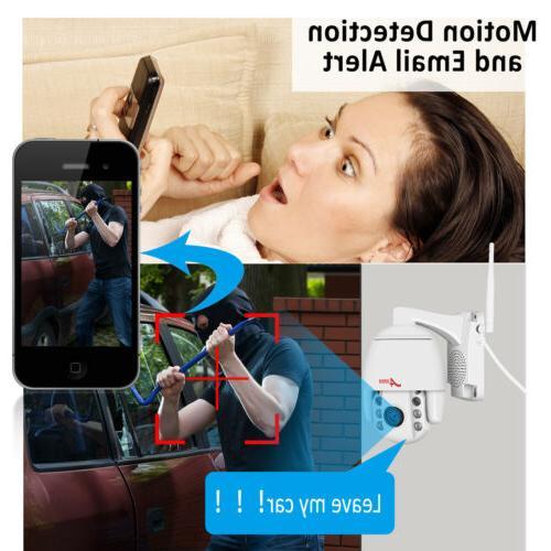 ANRAN WIFI Home Camera Outdoor 2Way Audio 1080P P2P APP