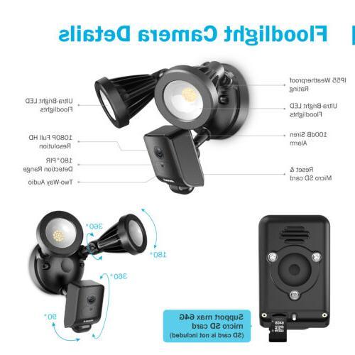 ANNKE HD 1080P Security Camera PIR AI