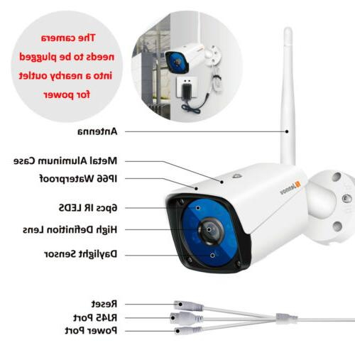 Wireless 1080P Security Camera Outdoor Surveillance Vision CCTV Home