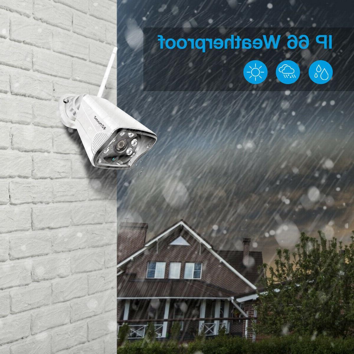 SmartSF 8CH Surveillance System 720P Camera Kit