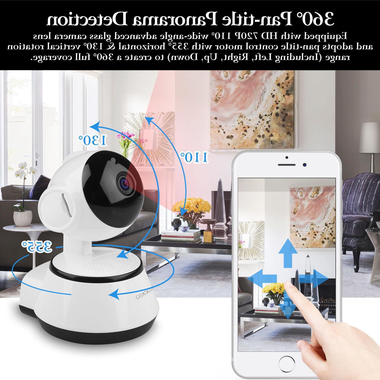 Security Camera Night Vision WiFi