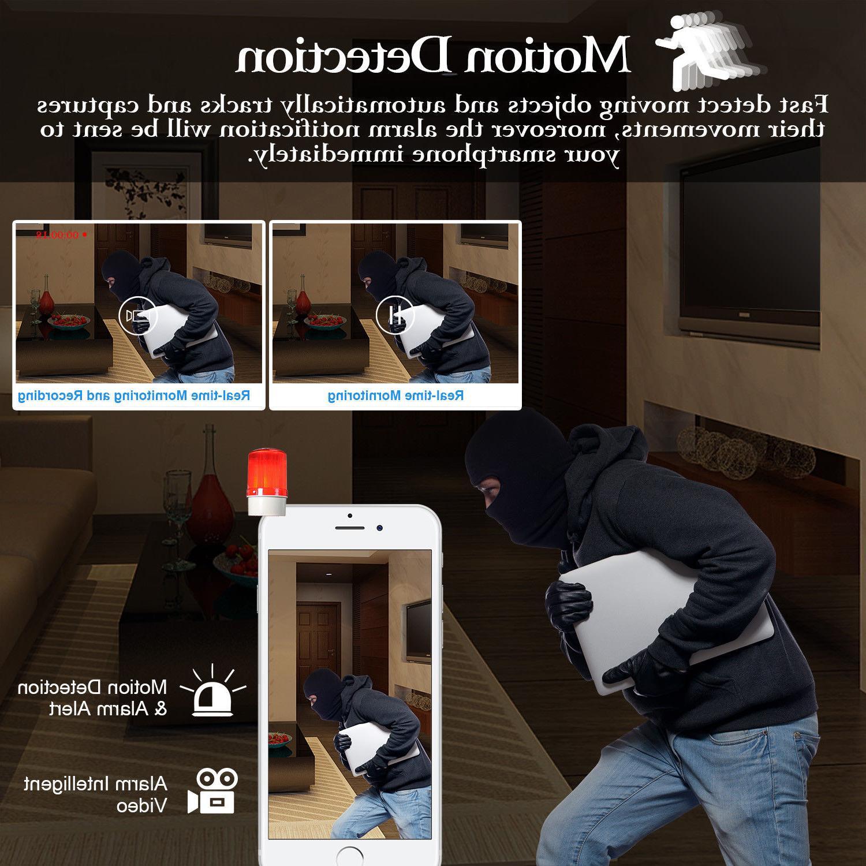 ❤️Wireless HD Pan/Tilt Security Camera Night Vision WiFi