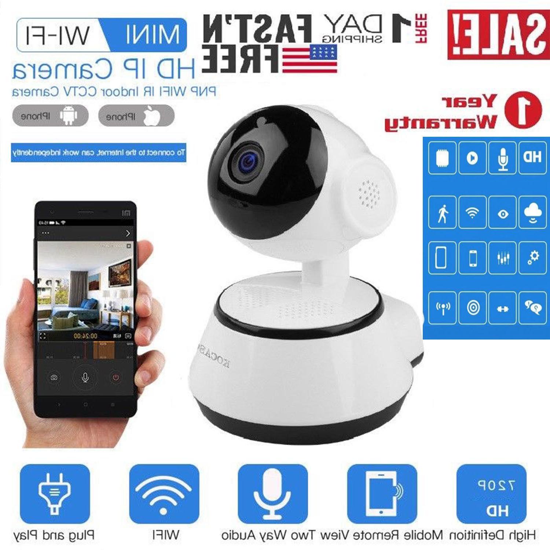 wireless hd pan tilt ip security camera