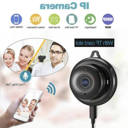 Wireless Mini Camera 1080P Home Security Night Vision US