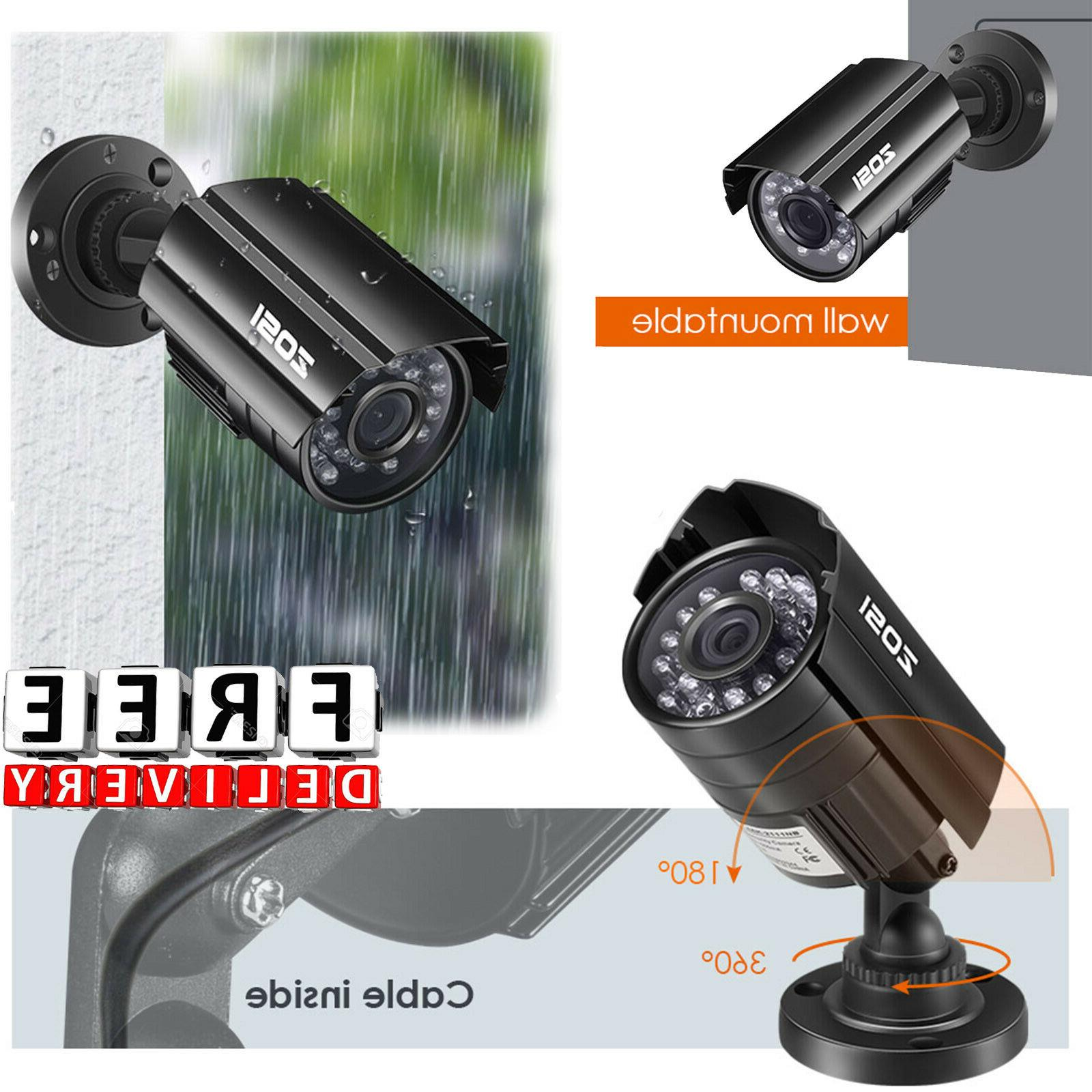 wireless outdoor security camera system 720p video