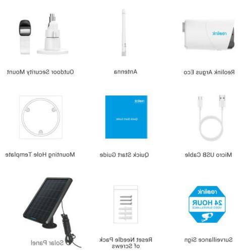 Wireless Security Outdoor Argus Eco & Solar