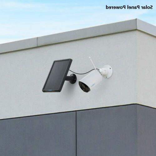 Wireless Camera Outdoor Powered Eco & Panel