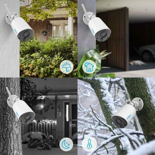 Wireless Security Camera Outdoor Eco Solar Panel