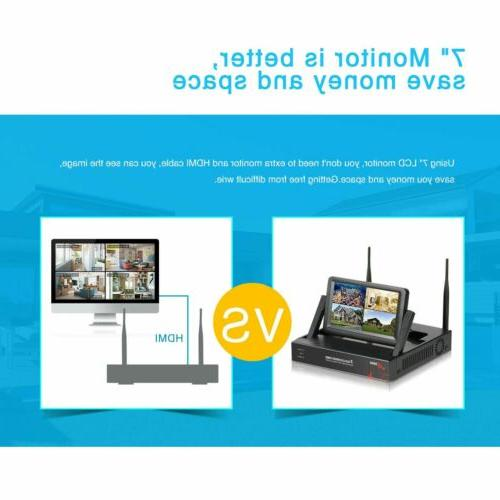 ANRAN Camera System WiFi NVR Outdoor 1TB