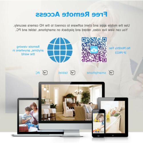 ANRAN Wireless Home 1080P 8CH