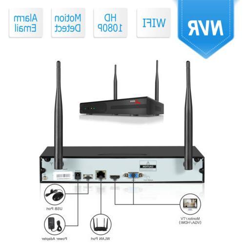 Zoohi System Wireless 1080P CCTV 1080P 1/2TB